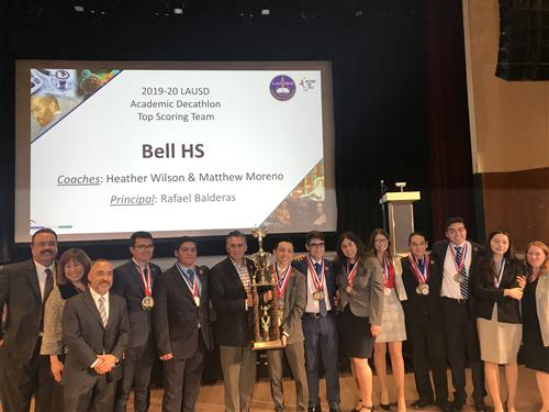 BELL SENIOR HIGH SCHOOL WINS ACADEMIC DECATHLON (2/8/20)