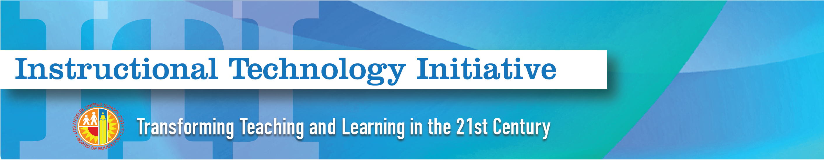 Instructional Technology Initiative