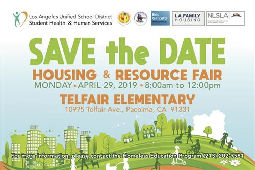 Housing and Resource Fair