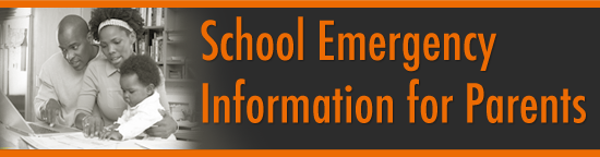 School Emergency Info for parents