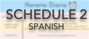 daily schedule2_spanish