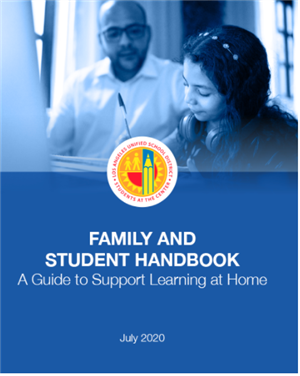 Family and Student Handbook - A Guide to Support Learning at Home - English