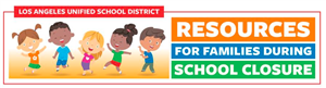 Resources for Familes During School Closure logo
