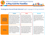 k-12 family play card