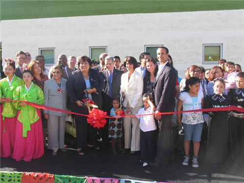 Roybal Ribbon Cutting