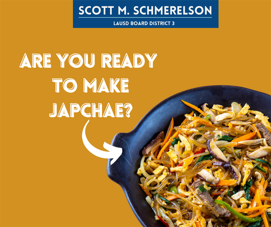 Are you ready to learn to make Korean Japchae?