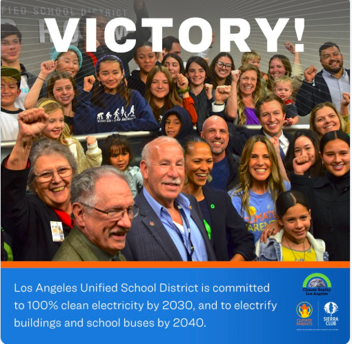 LAUSD Board Approves Clean Energy Resolution