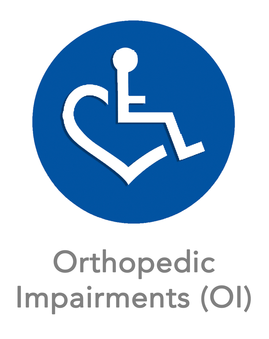 Orthopedic Impairments (OI) Icon