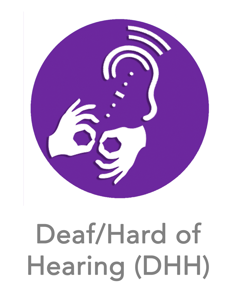 Deaf/Hard of Hearing (DHH) Icon