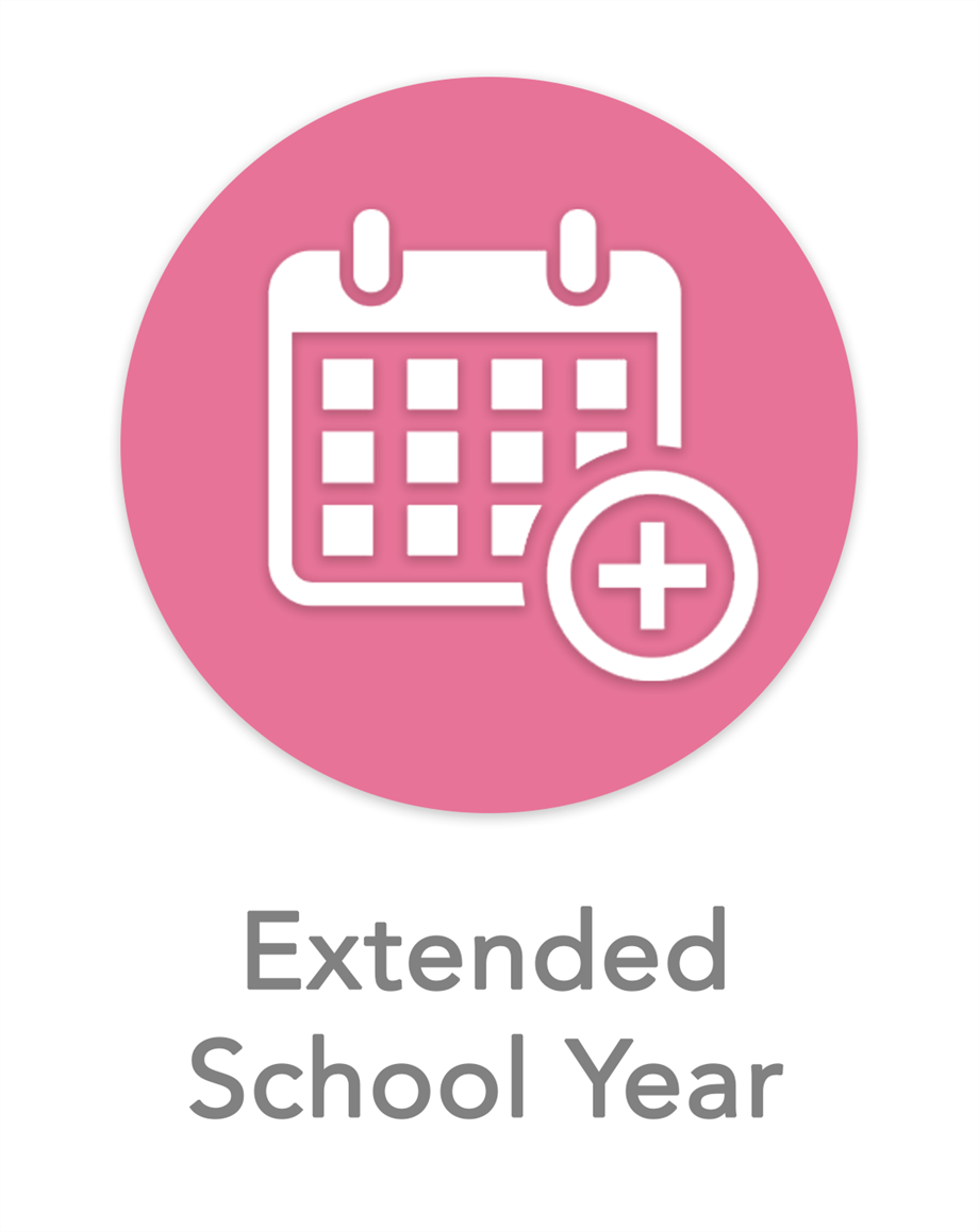 Extended School Year Icon