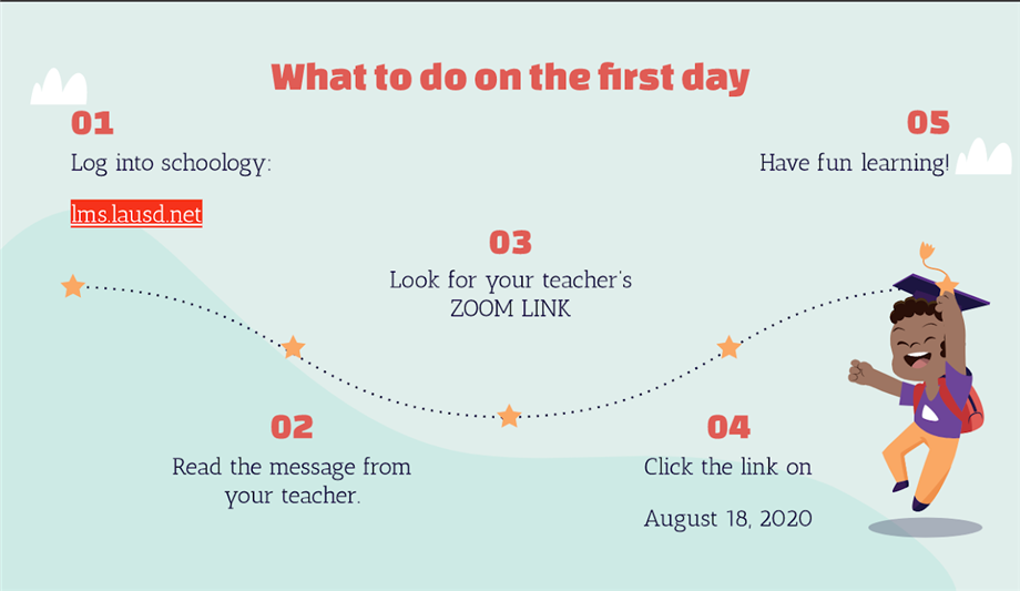 what to do on first day