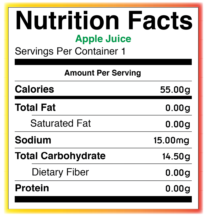 Food Services / Nutritional Information