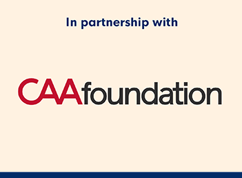 CAA Foundation logo