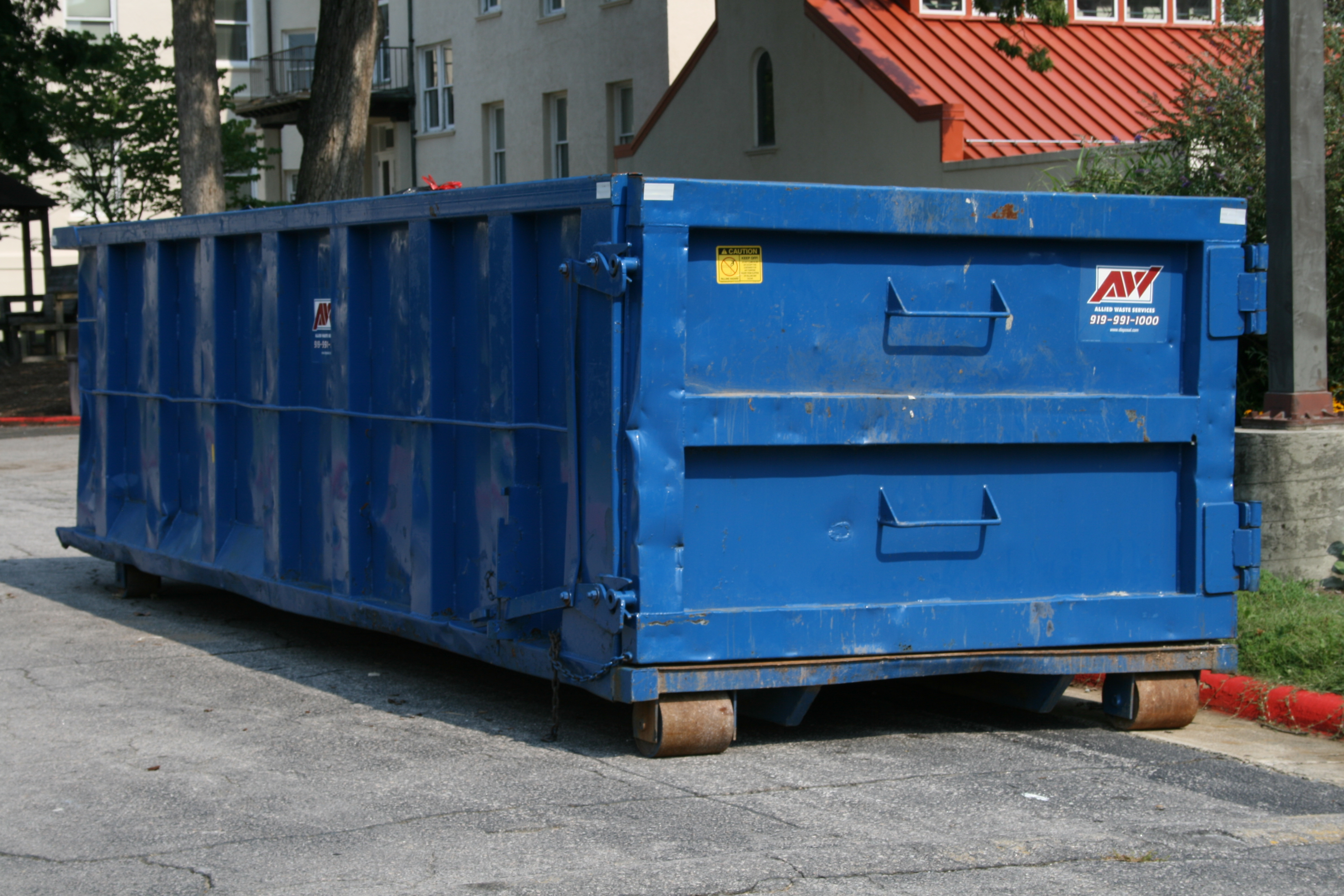 Trash Container Sizes Residential Waste Management