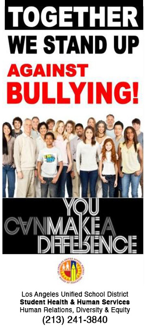 anti bullying picture brochure