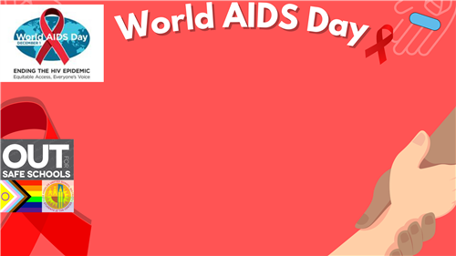 world aids day zoom background