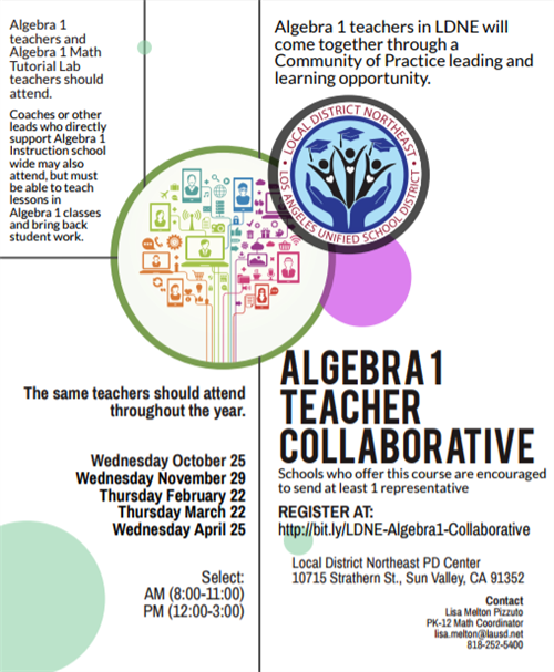 Algebra 1 Collaborative