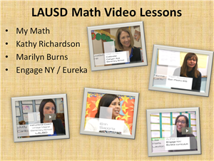 LAUSD MATH VIDEO LESSONS