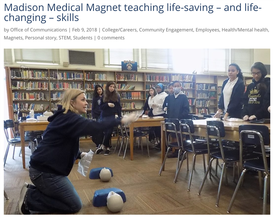 Madison Medical Magnet