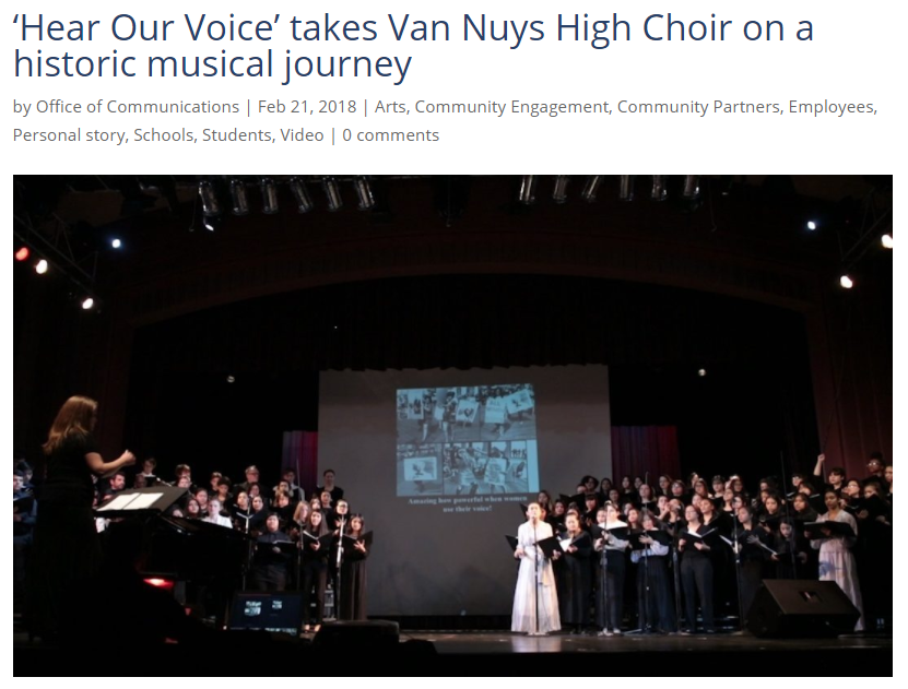 Van Nuys HS Choir