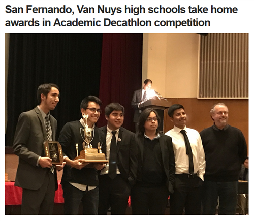 Van Nuys takes home Academic Decathlon