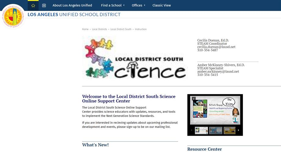 LD South Science
