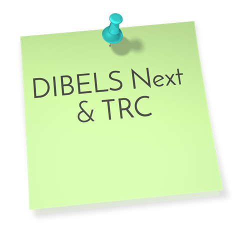 DIBELS Next & TRC