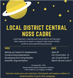Science Cadre Flyer
