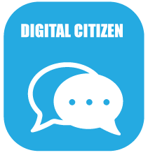 Digital Citizen Icon