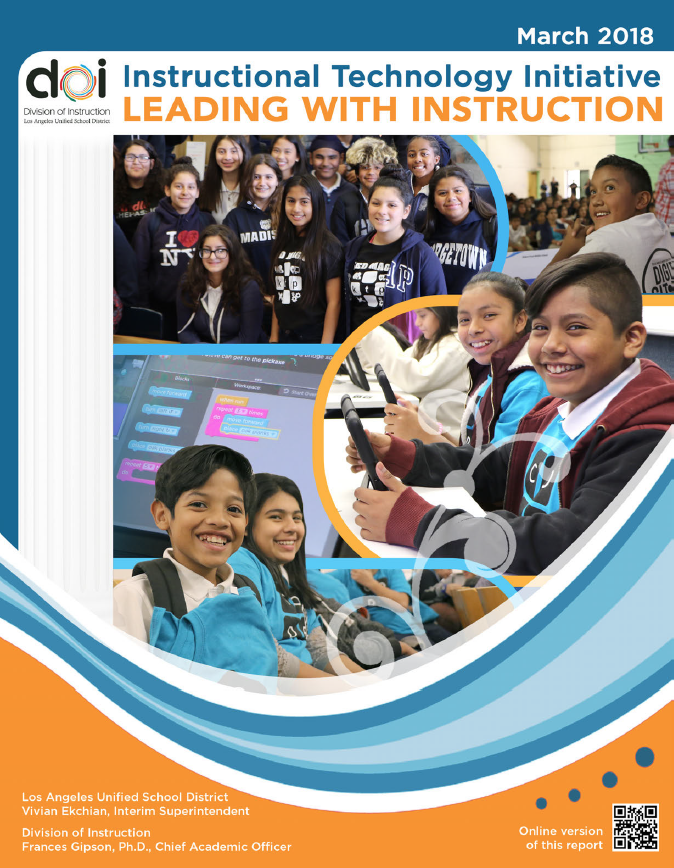 Leading with Instruction Cover