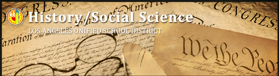 History Social Science Pre K 12 Elementary Instructional