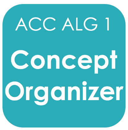 Acc Alg 1-Concept Org