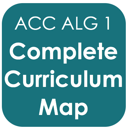 Acc Alg 1-Curriculum Map