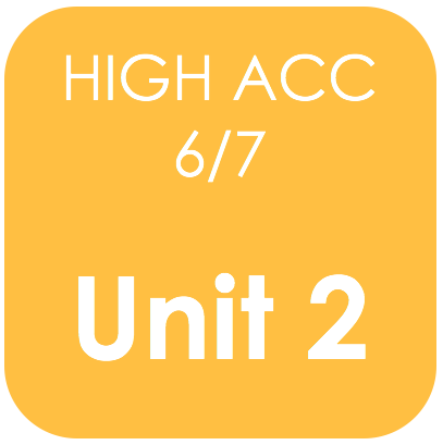 Highly Acc 6/7-Unit 2
