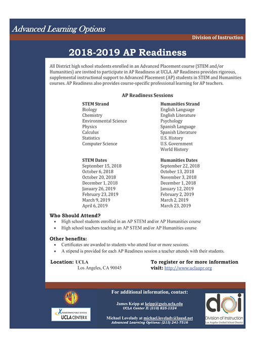 Advanced Placement / AP Readiness