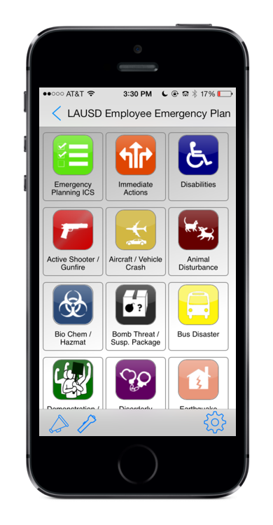 Emergency Plan App
