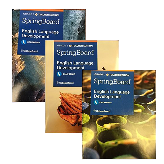 English Learner Instruction / Middle School Textbook