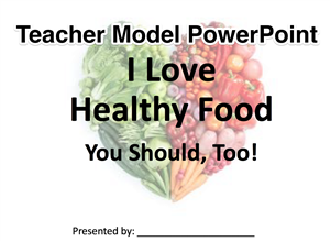 Teacher Model PowerPoint