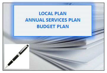 Local Plan, Annual Services Plan, Budget Plan
