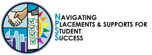 NPSS Logo - Navigating Placements and Supports for Student Success