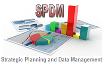 Strategic Planning and Data Management Logo
