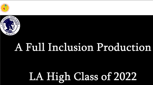 LA High School Full Inclusion Production