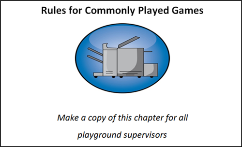 Rules for Commonly Played Games