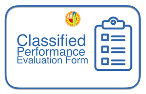 Classified Performance Evaluation Form