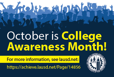 October is College Awareness Month