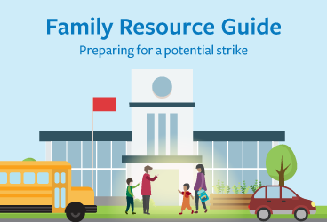 Cover graphic of the Family Resource Guide