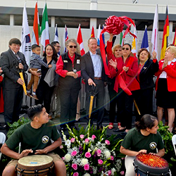 International Studies Learning Center New Middle School Addition Celebrated by Los Angeles Unified Officials, Parents, Students, and South Gate Community (11-06-19)