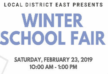 Local District East Winter School Fair