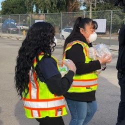 Los Angeles Unified Provides 100,000 N-95 Masks to Local Hospitals (03-27-20)