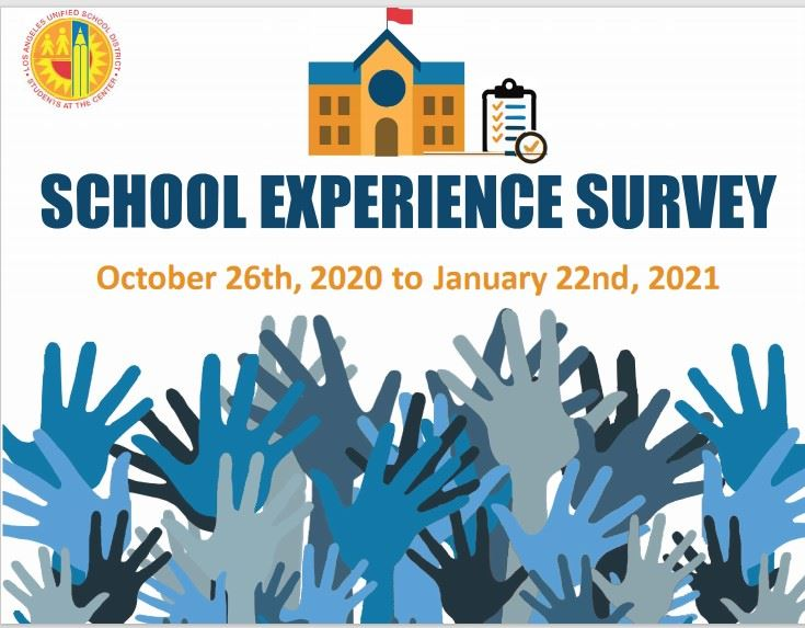 The School Experience Survey Deadline Has Been Extended to January 22